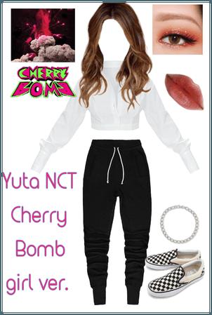 Yuta NCT girl ver Cherry Bomb