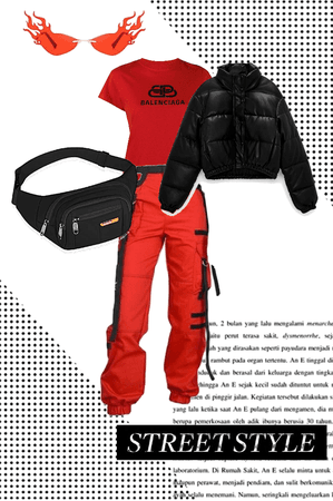red monochrome ish