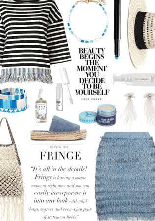 blue fringe