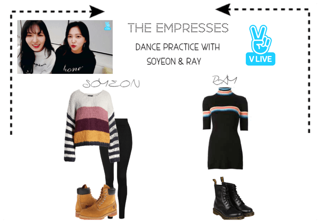 [THE EMPRESSES] DANCE PRACTICE-VLIVE#7