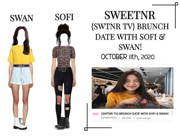 {SWTNR TV} BRUNCH DATE WITH SOFI & SWAN!