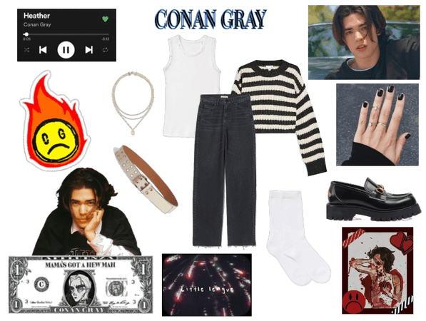 Conan Gray inspired