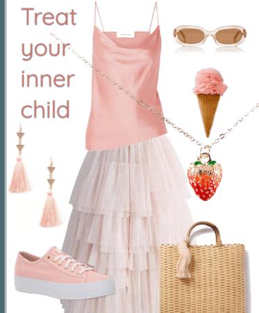 S strawberry Icecream