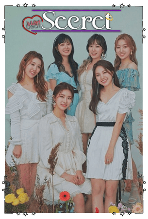 Heartbeat - Secret Group Concept Photo