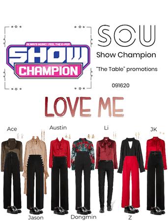 Show Champion- Love Me 091620