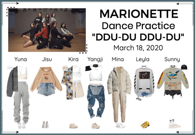 MARIONETTE (마리오네트) 'DDU-DU DDU-DU' Dance Practice
