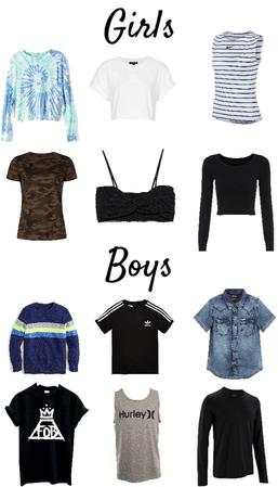 choose a shirt