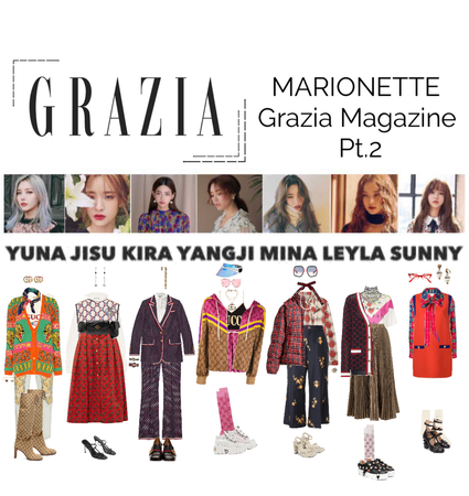 {MARIONETTE} Grazia Magazine Photoshoot Part 2