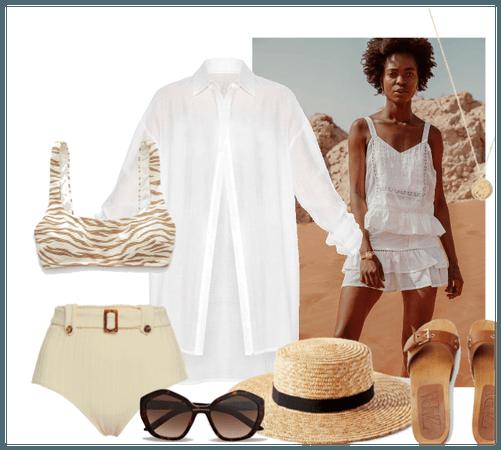 _Wypoczynek na plaży_
