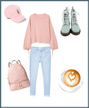 Cozy pastel