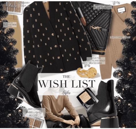 Highly Modest Wish List for Christmas