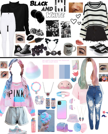Black and White|Cotton Candy!