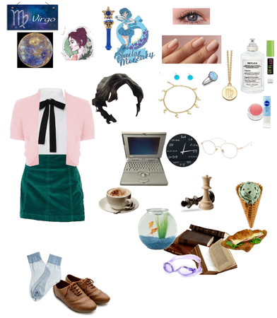 Sailor moon Zod. Amy (sailor mercury)♍💙