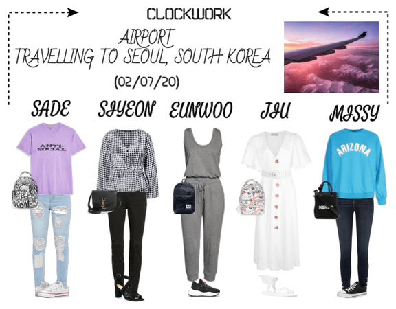 *CWK* | AIRPORT | TRAVELLING TO SEOUL, SOUTH KOREA