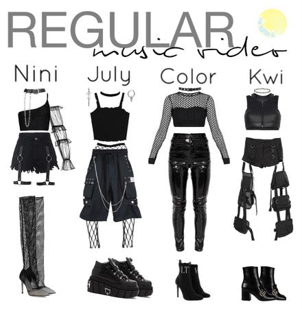 Regular|Music video outfits|[4est]•