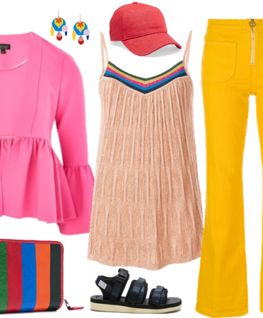 Boho Coachella in Bright Colors