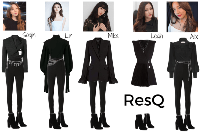 ResQ outfits