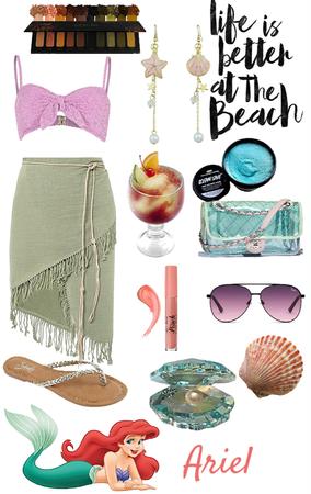 Ariel- Beach Day