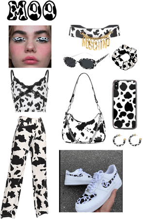 cow print moooo 🐄✨