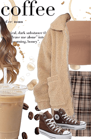 cappuccino outfit!!