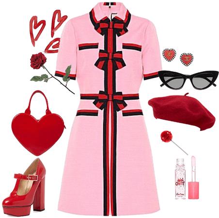 valentines red n pink
