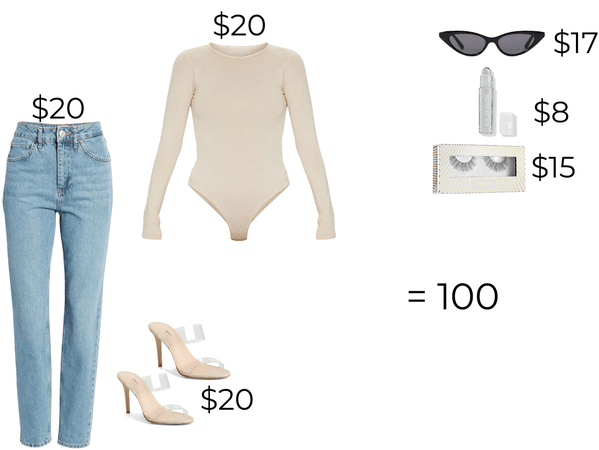 100 dollar outfit 💵