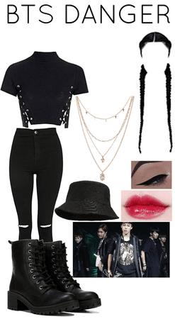 BTS DANGER Outfit 3