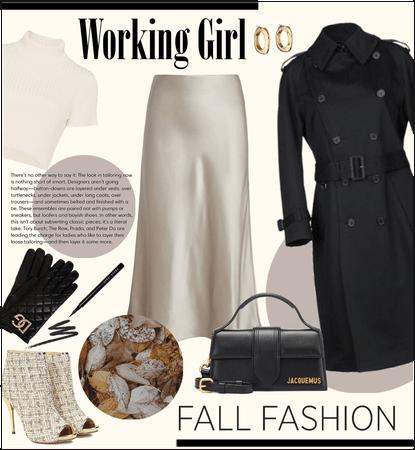 Working girl fall 🍁💻
