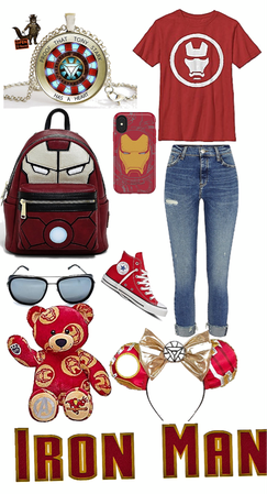 marvel outfits to wear to disneyland: iron man