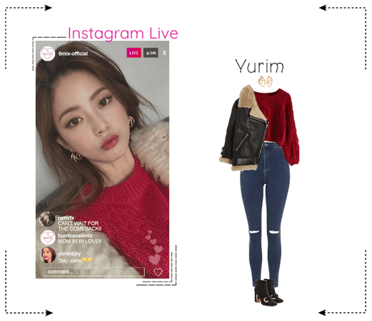 《6mix》Instagram Live - Yurim