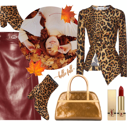 Fall Trend: Leopard + Leather