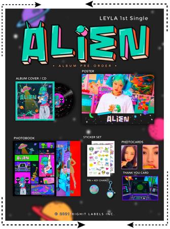마리오네트 (MARIONETTE) - [LEYLA] 'ALIEN' Album Pre-Order