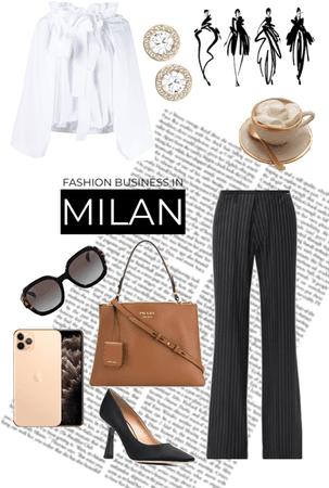 Fashion business in Milan