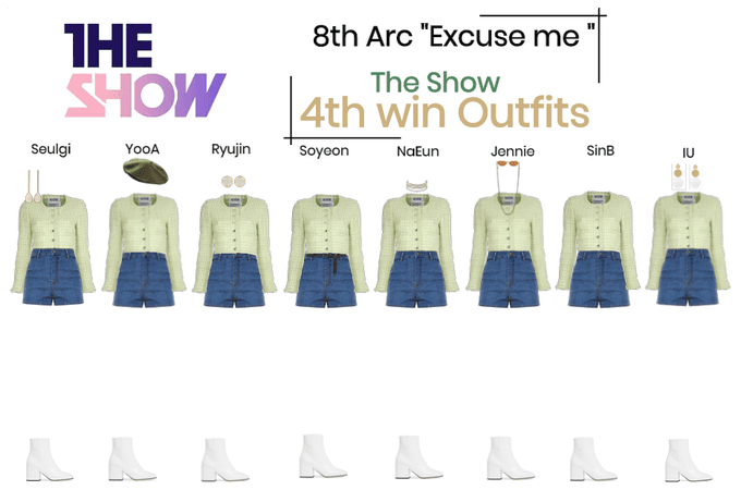 "8THARC the show ""Excuse me"" 4th win"