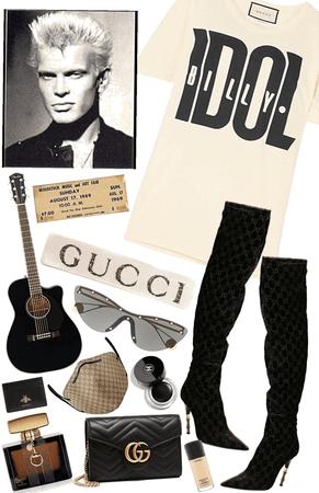 Gucci Billy Idol Concert 🎫 🎉🥺