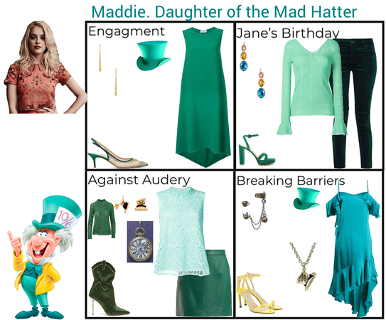 Maddie. Daughter of The Mad Hatter. Descendants 3