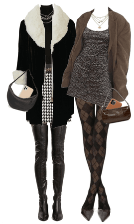 """fall/winter """"rich girls"""" outfits"""