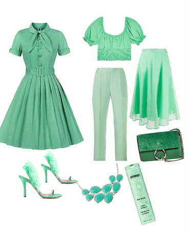 green all green