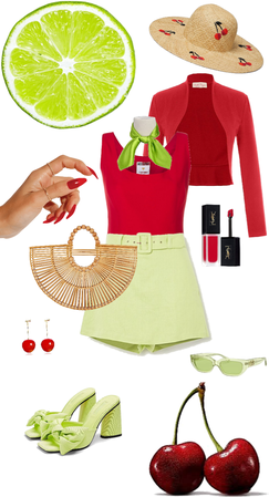 lime & cherry