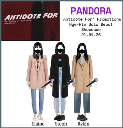PANDORA 'Antidote For' Hye-Rin Promotions