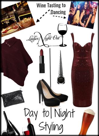 Day 2 Night Styling/Wine Tasting 2 dancing