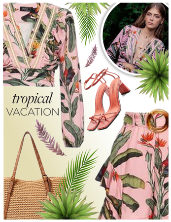 Tropical vacation