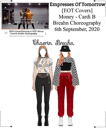 EOT(내일의 황후) | [EOT Covers] Money - Cardi B / Breahn Choreography