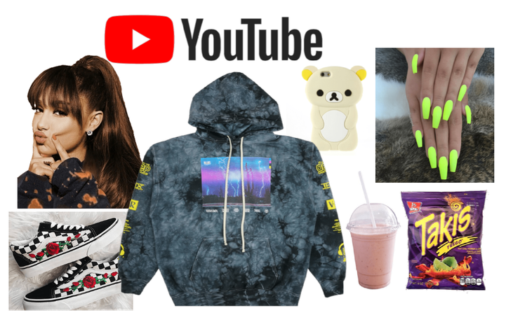 Ariana Grande as a Youtuber