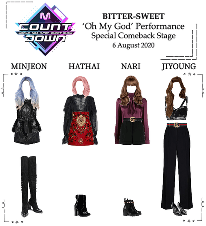 BITTER-SWEET [비터스윗] M Countdown 200806
