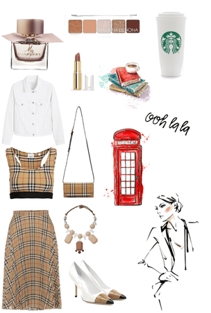 Burberry chic !