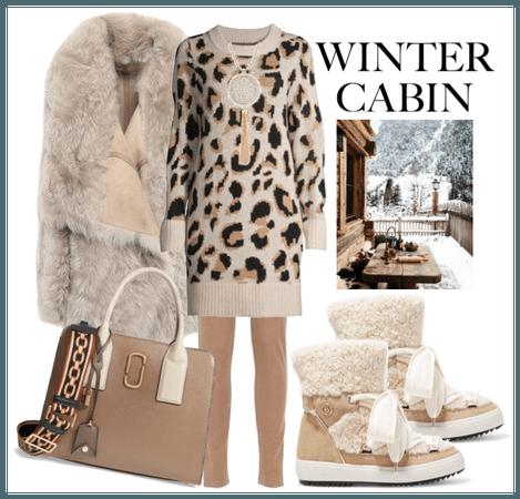 Winter Cabin 3