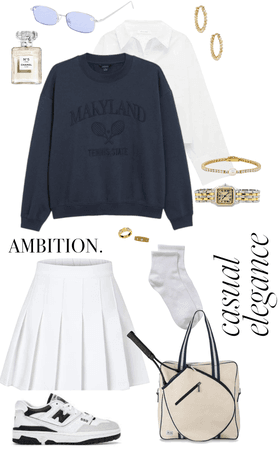 old money inspired outfit