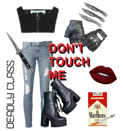 Deadly Class Outfit 1