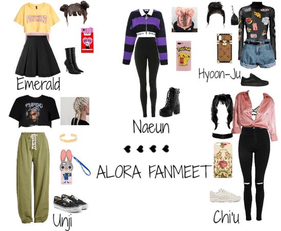 Fanmeet || Fake K-Pop Girl Group ALORA